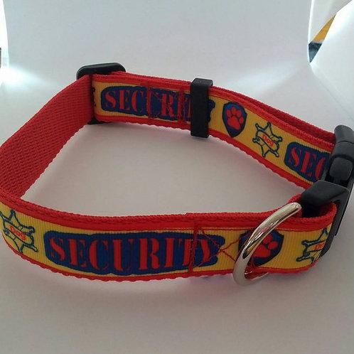 Security dog collar