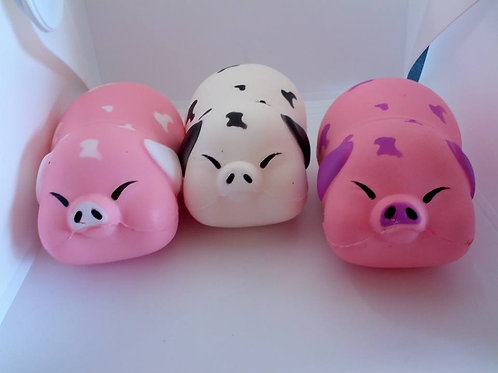 Pig squishy toys / stress relievers