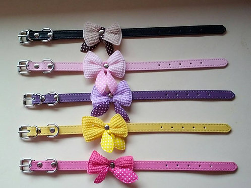 Cat / dog collars with bows