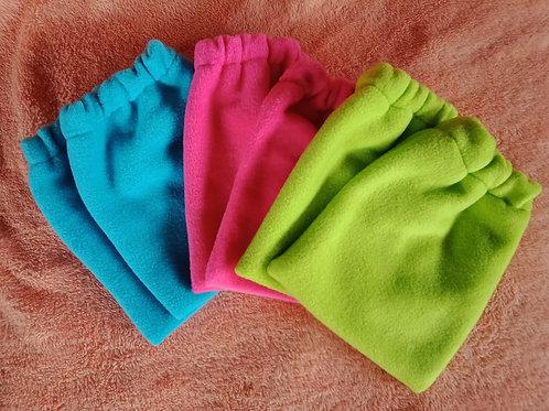 Fleece stirrup covers / horse equipment