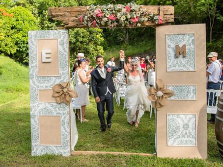 Le fabuleux Mariage tout DIY d'Erika & Morgan
