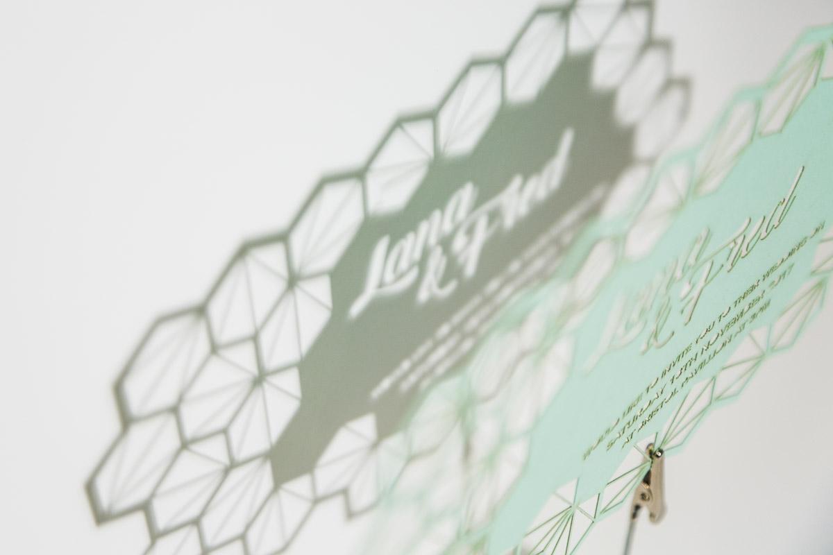 - Lasercut Invitation - 0160