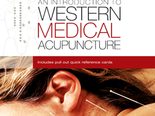 Book Review: An Introduction To Western Medical Acupuncture