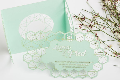 Honeycomb Invitation