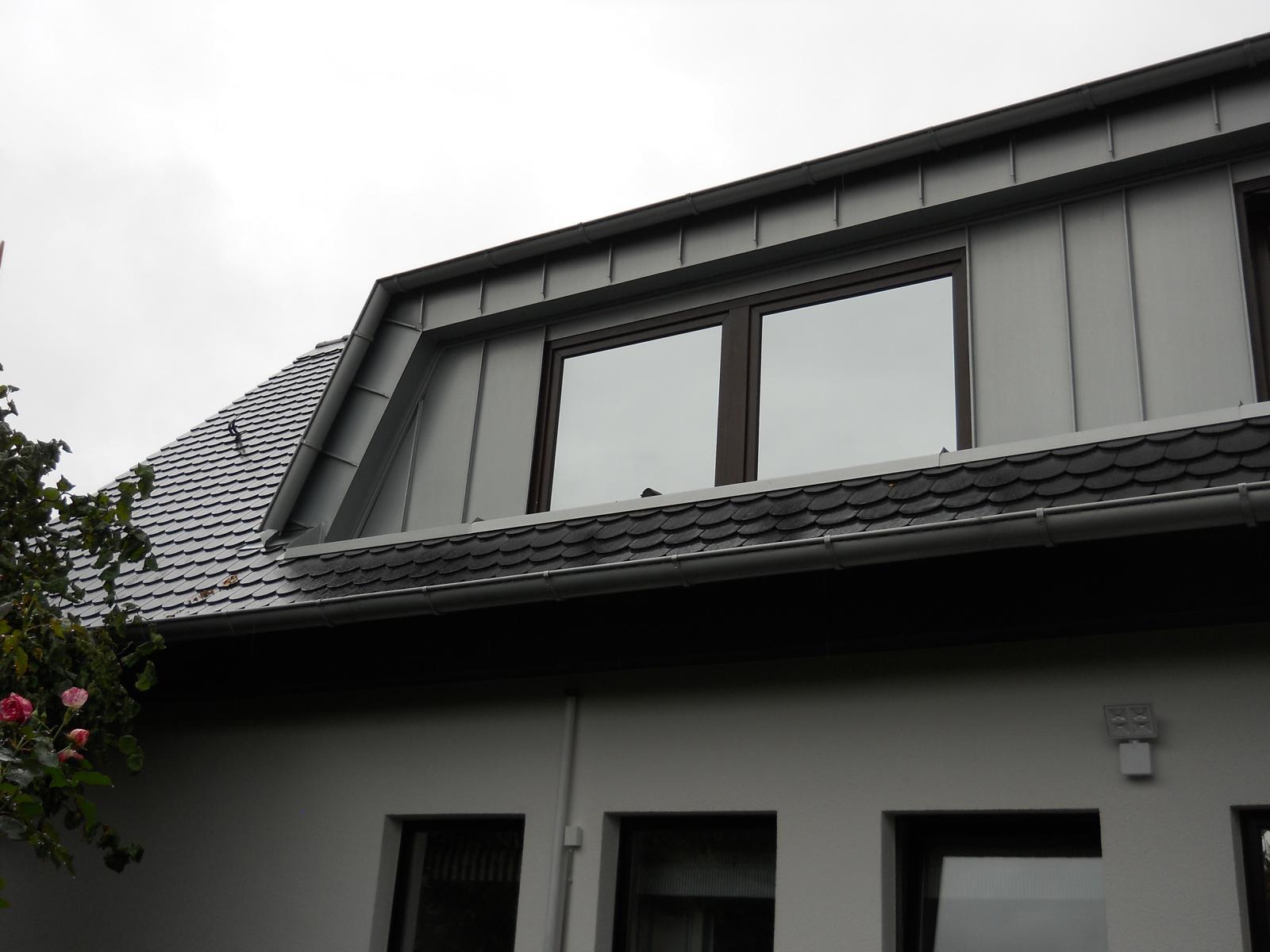 dachgaube bochum, dacherneuerung, stehfalzdeckung, dachdeckerei deckert bochum, peter deckert, dachd