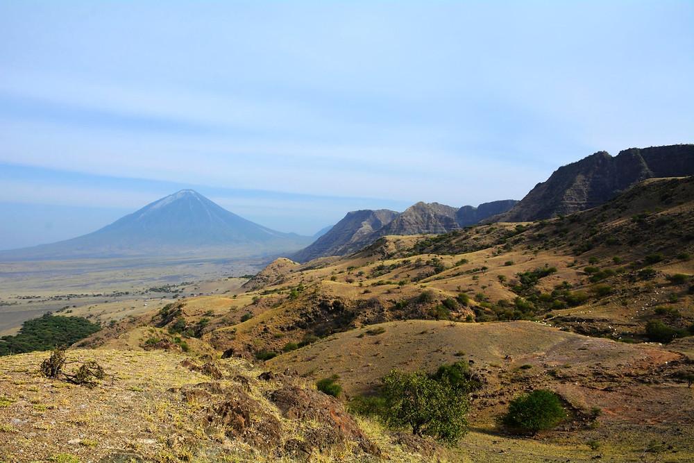 The Ol Doinyo Lengai Volcano from Engare Sero