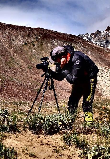Cameron Filming in the Himalaya