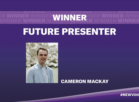 """Future Presenter"" New Voice Award"