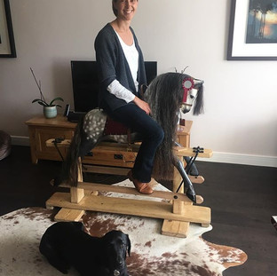 Baby Carriages Rocking Horse