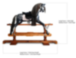 Rocking horse dimensions