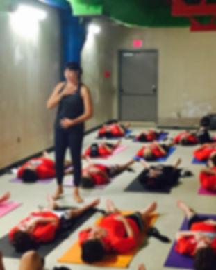 Diane Johnson yoga for athletes