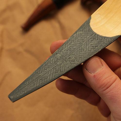 Deluxe Kayak Spoon in Birch