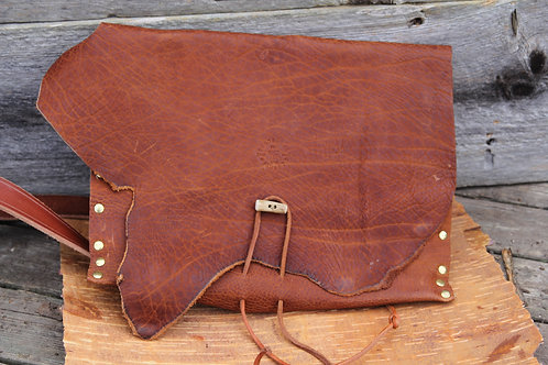 Messenger Style Bag from Horween Bison