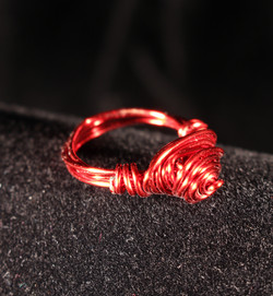 Red Wire Ring