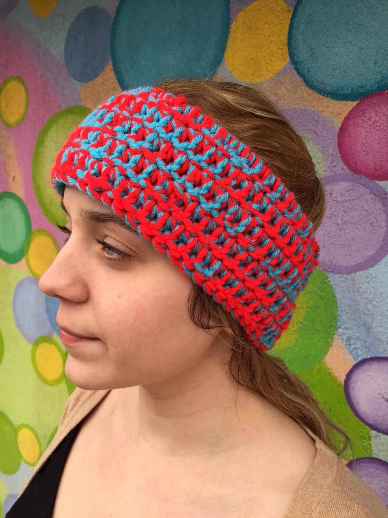 Red Blue Headband