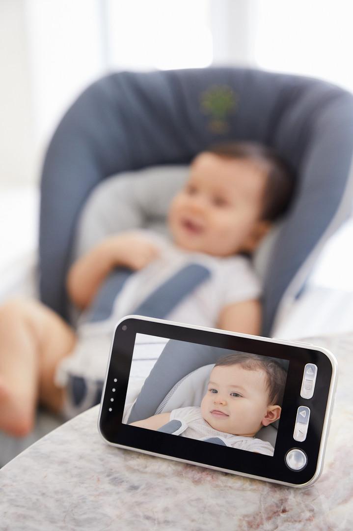 Bebare Motion Digital Video Low EMF Emissions Baby Monitor