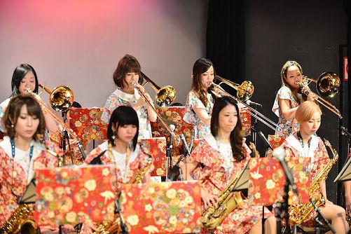 歌謡NOTE  トロンボーン隊🎵_._photo by ミズシマ トモコ_._