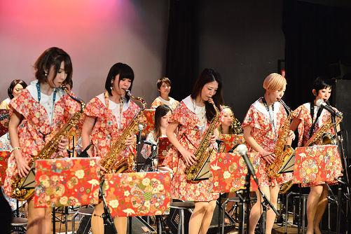 歌謡NOTE  SAX隊🎷_._photo by ミズシマ トモコ_._#歌謡