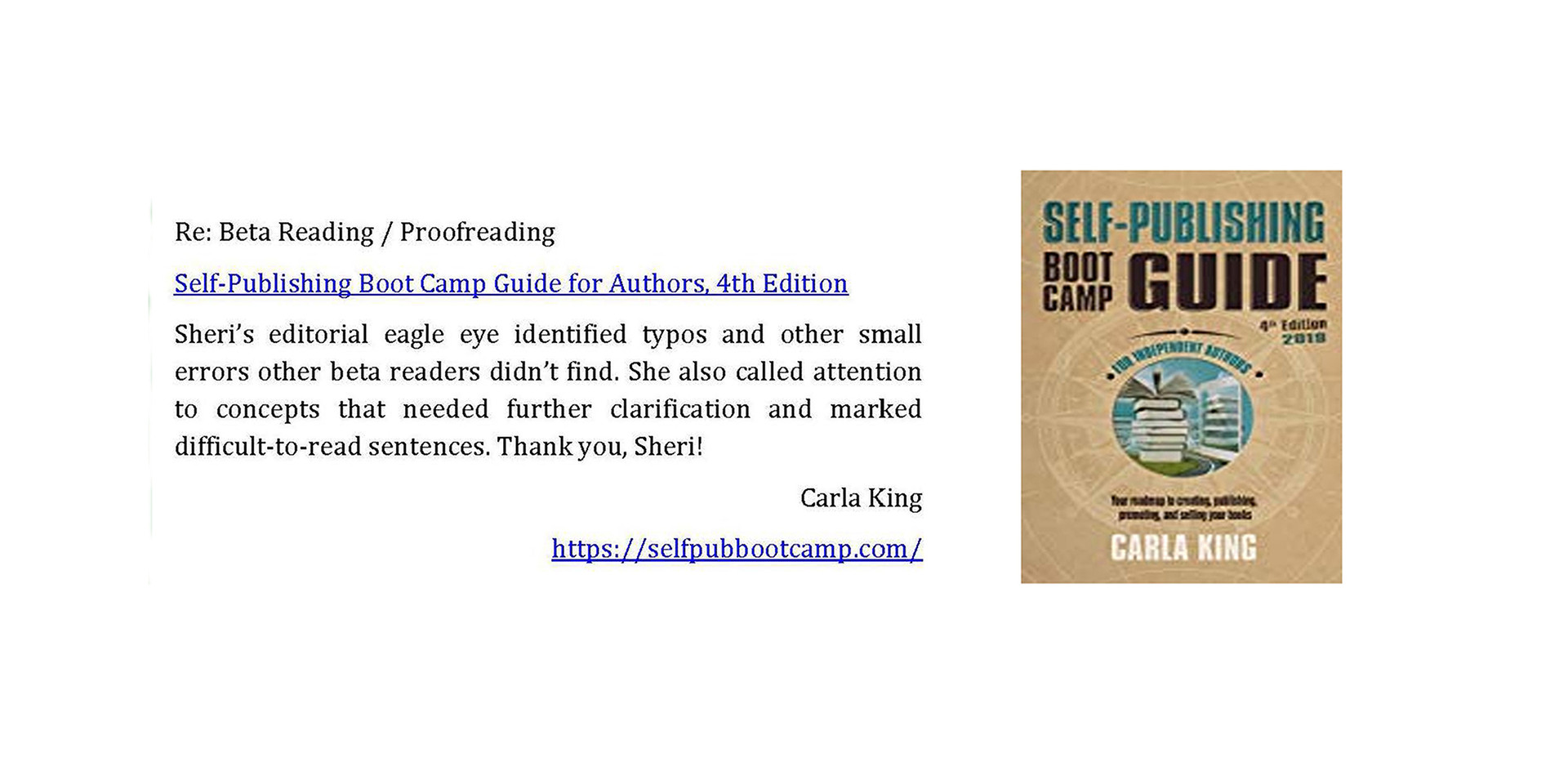 Self-Publishing Boot Camp Guide