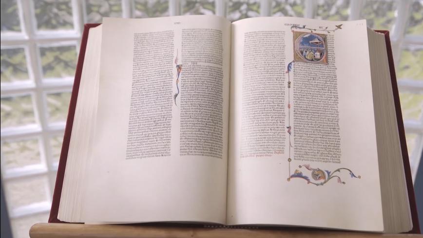 Istitutional video for Treccani - La Grande Bibbia di Piero Cavallini