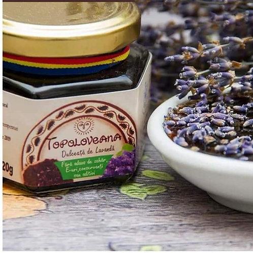 Topolovena gourmet lavender flower spread 120 g