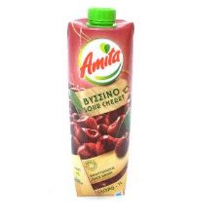 AMITA Sour Cherry Juice 1L tetra pak