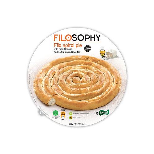 Filosophy cheese spiral pie 850g