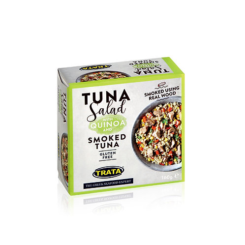 Trata tuna smoked salad with quinoa 160g