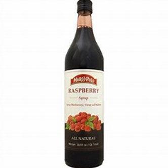 MARCO POLO Raspberry Syrup 1L (33.8oz) bottle