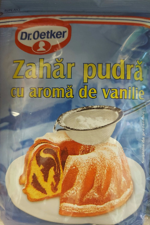 Zahar pudra cu aroma de vanilie 5x80g