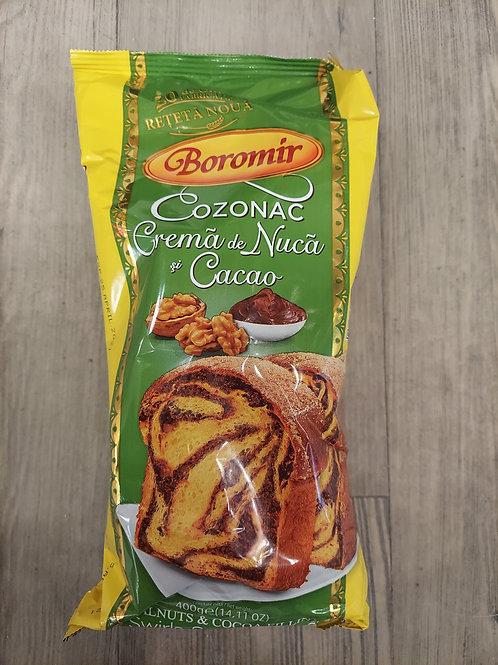 COZONAC crema de nuca si cacao 400 g