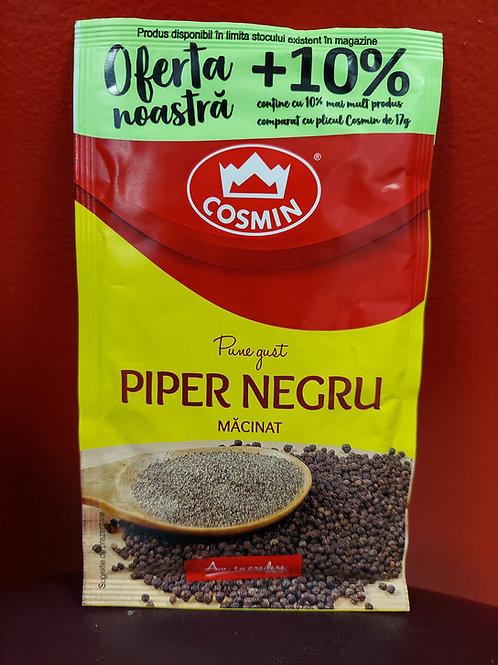Pune gust piper negru macinat 19 g