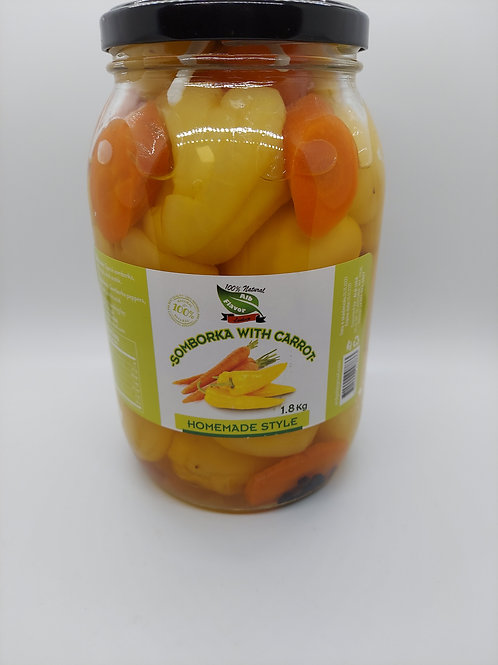 Somborka Peppers with Carrots 1.8 kg