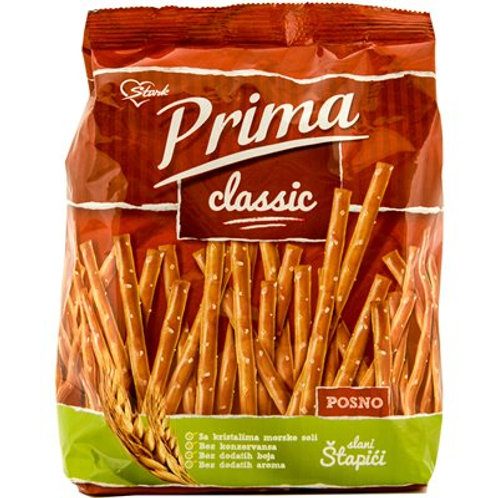 STARK Prima Pretzel Sticks 220g bag