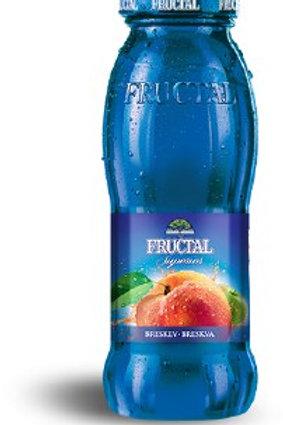 Fructal Superior Peach Nectar 200ml Glass Bottle