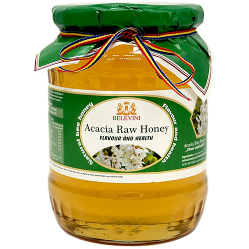 ACACIA RAW HONEY BELEVINI 950G
