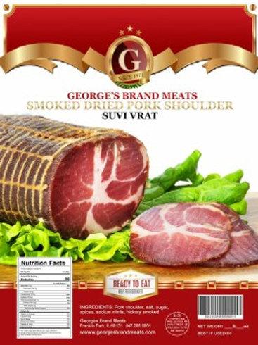 Georges Brand Dry Cured Pork Shoulder Suvi Vrat Approx. 1.5 Lb