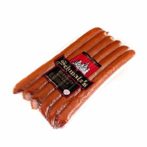 Schmalz Kabanosy Pork Sausage Approx 1.1lb
