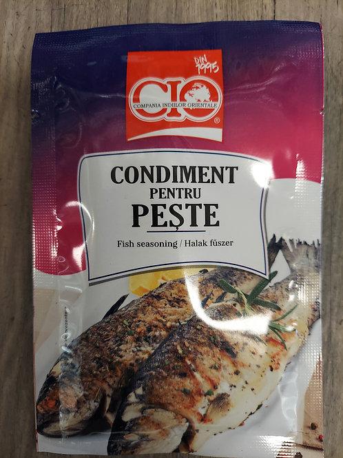 Condiment pentru peste 20 g