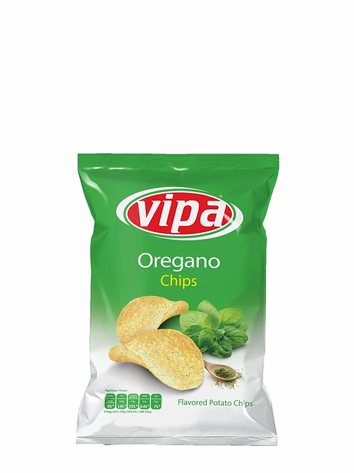 Vipa Oregano Flavored Chips 75 g