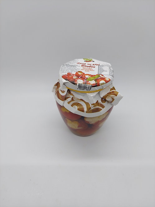 Alb Flavor Hot Cherry Peppers with cottage cheese 290g