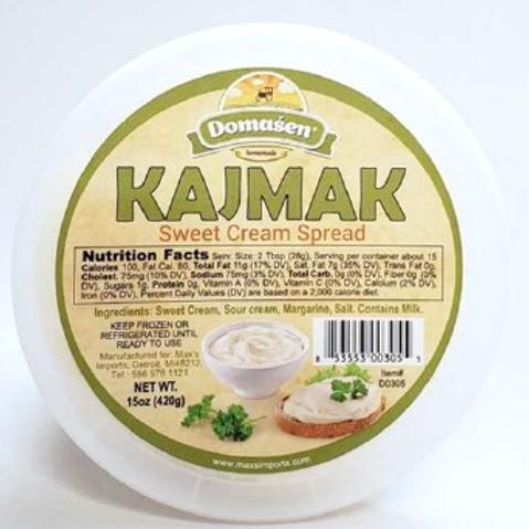 Domasen Kajmak Cream Cheese Spread 16oz