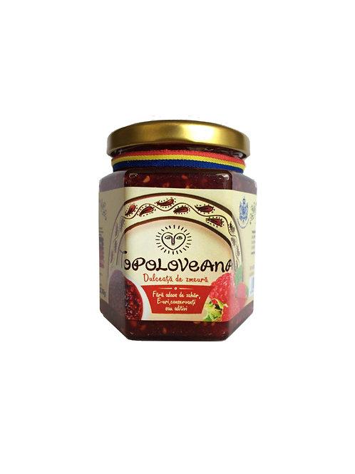Topoloveni Raspberry Gourmet Confiture – 230 g
