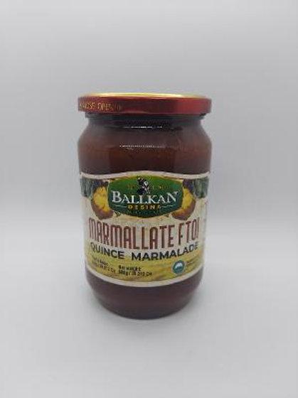 Ballkan quince marmalade 800g jar