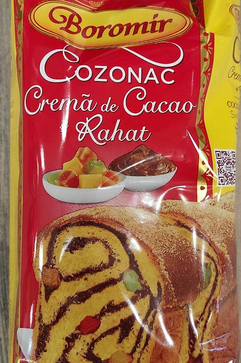 Cozonac crema de cacao si rahat 400 g