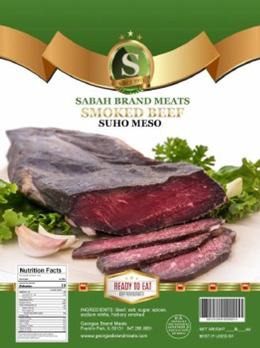 Sabah Hickory Smoked Dried Beef Strip Approx 0.8 Lbs