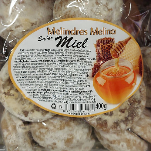 Melindres melina sabor miel 400 g