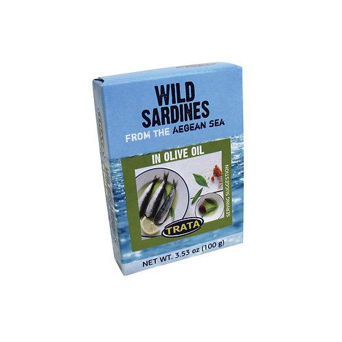 Trata sardines in olive oil