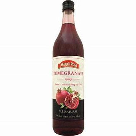 MARCO POLO Pomegranate Syrup 1L (33.8oz) bottle