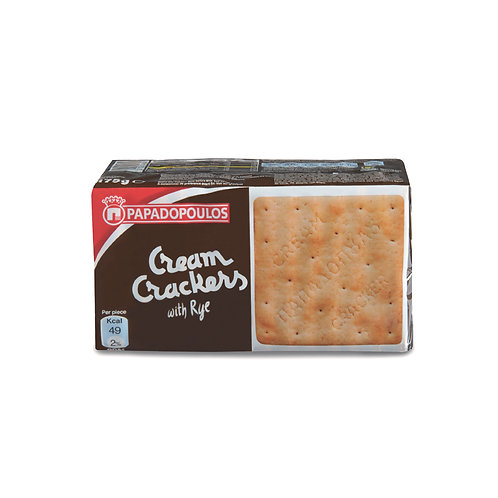 Cream cracker rye 140 g